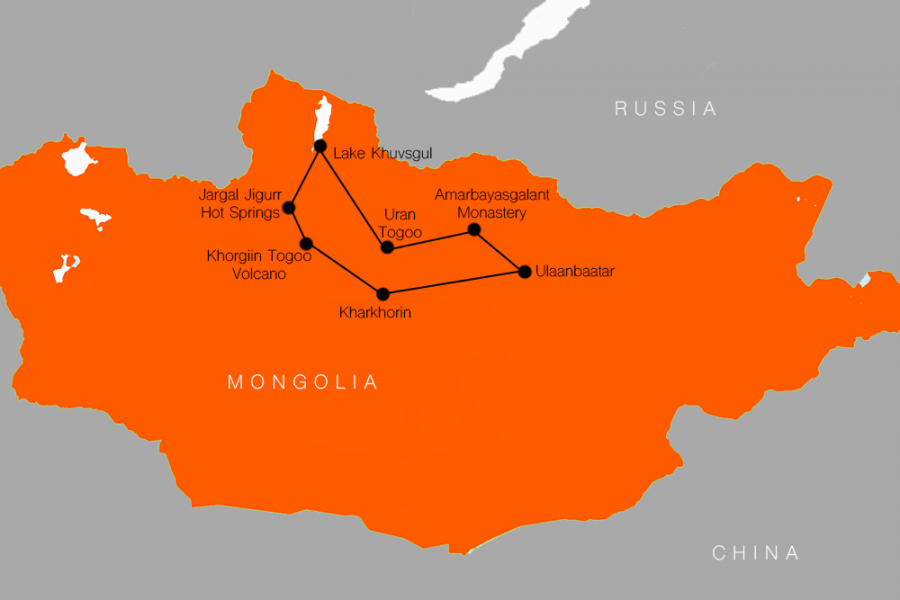 10 Day Blue Pearl of Mongolia Tour MyHoliday2