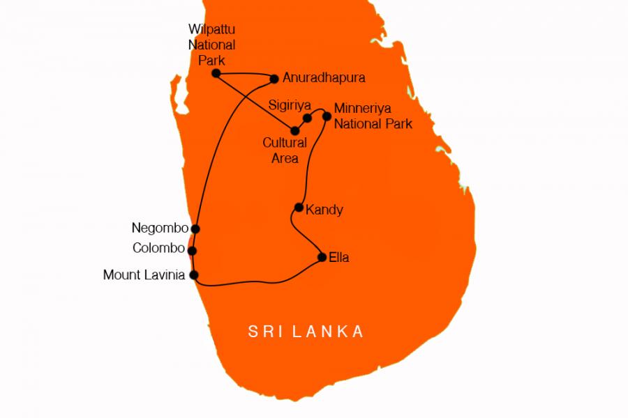 10 Day Safaris of Sri Lanka