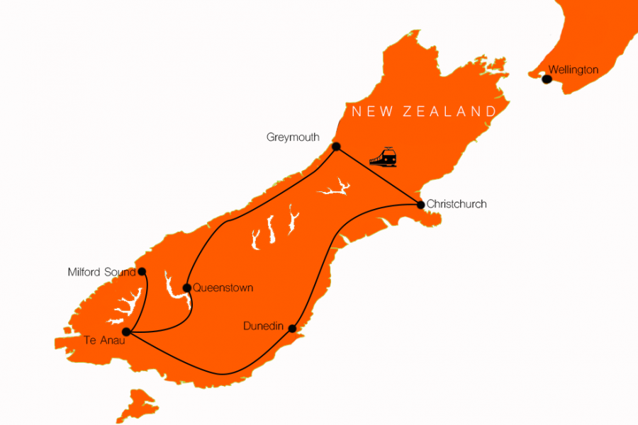 9 day coast to coast NZ