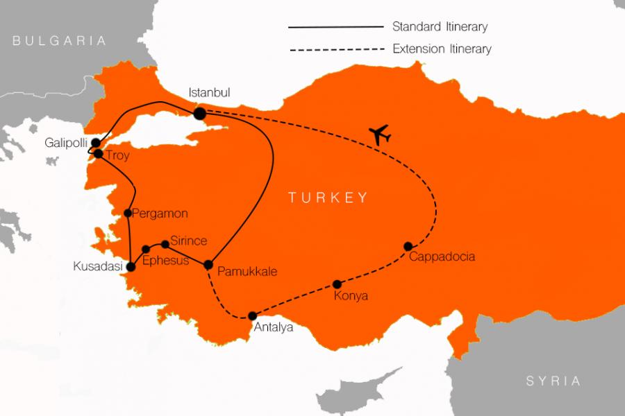 ANZAC Day Turkey tour