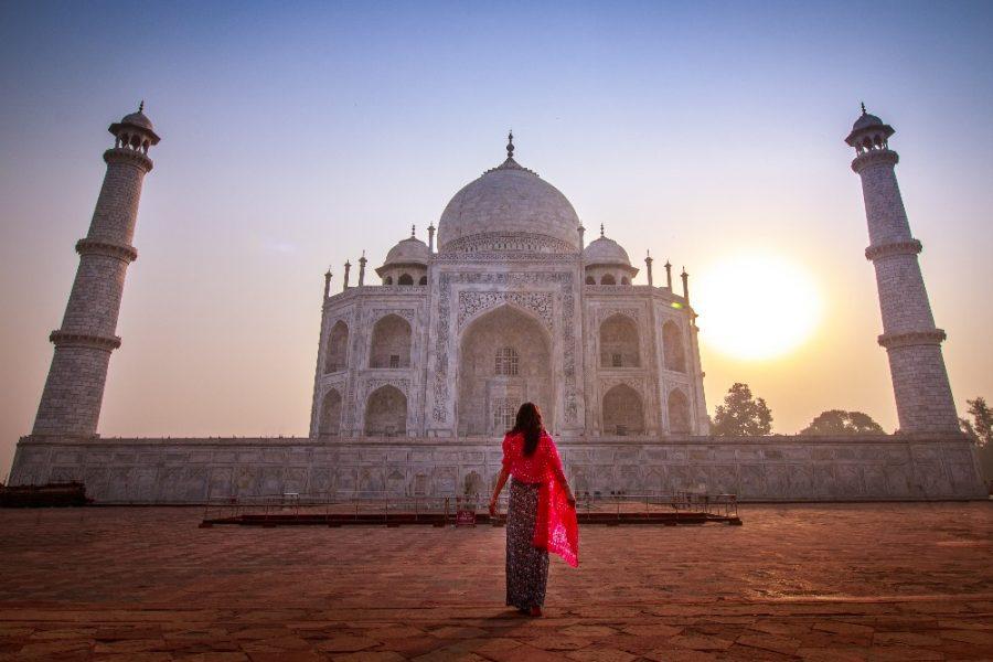 Taj Mahal at Sunrise India Tour MyHoliday2